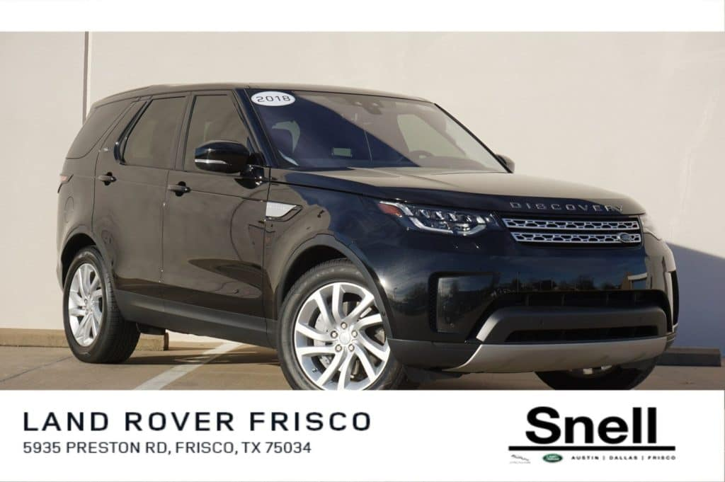 Certified Pre-Owned 2018 Land Rover Discovery HSE 4WD