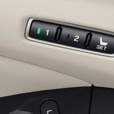 Accord Hybrid Memory Seats
