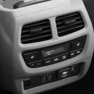 Pilot Rear AC Controls