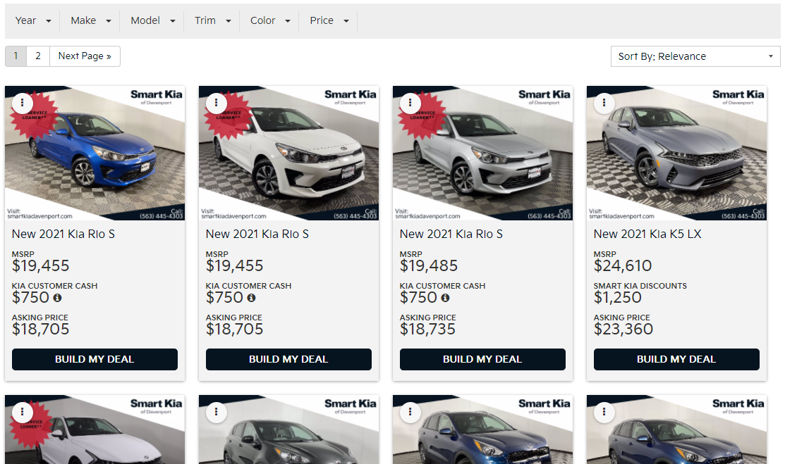 Fast Pass - Smart Kia Inventory