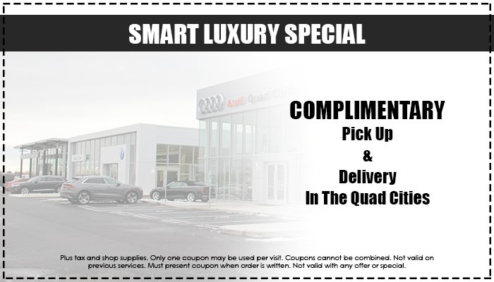 Complimentary Pick Up and Delivery