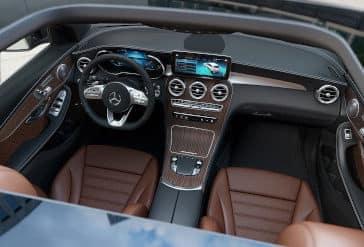 2020 GLC 300 Front Interior