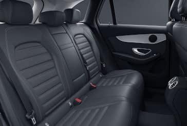 2020 GLC 300 Rear Seats
