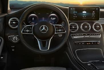 2020 GLC 300 Steering Wheel