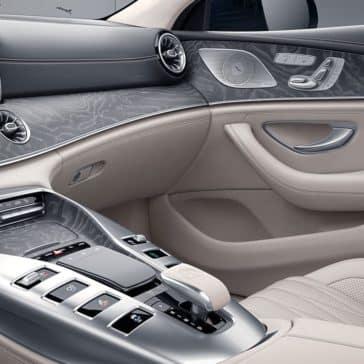 Interior front controls