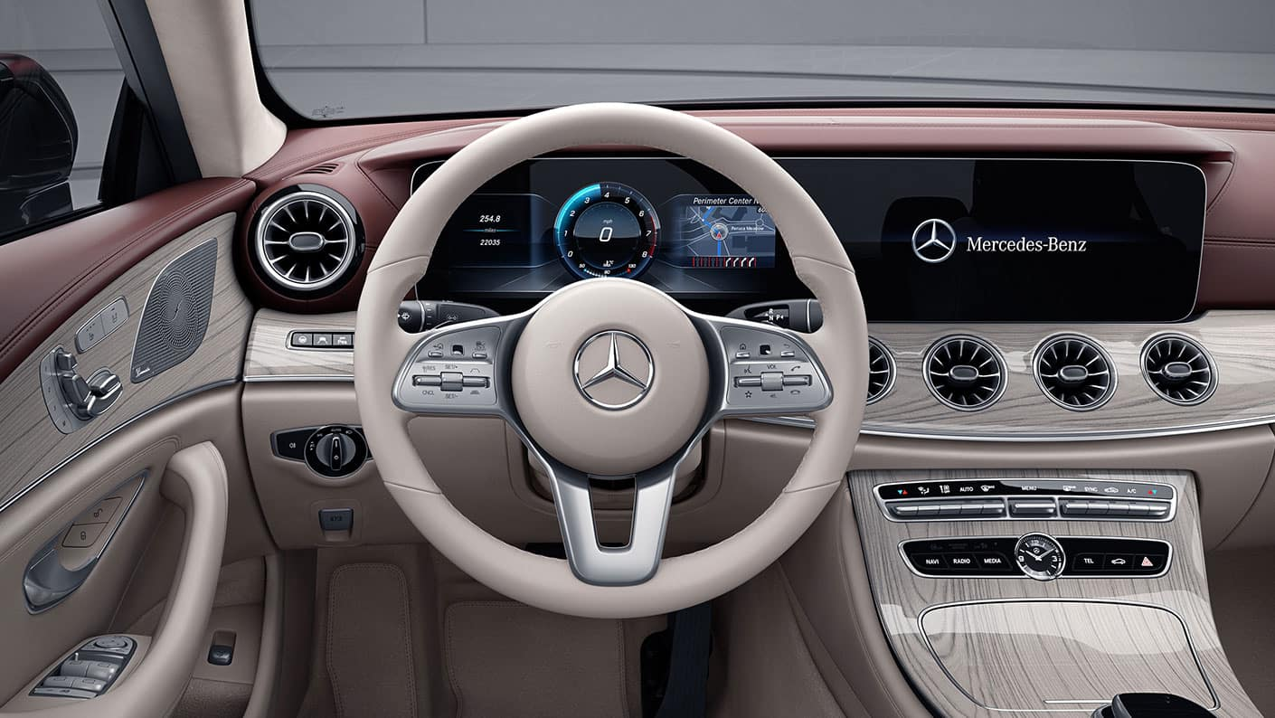 CLS Interior Front
