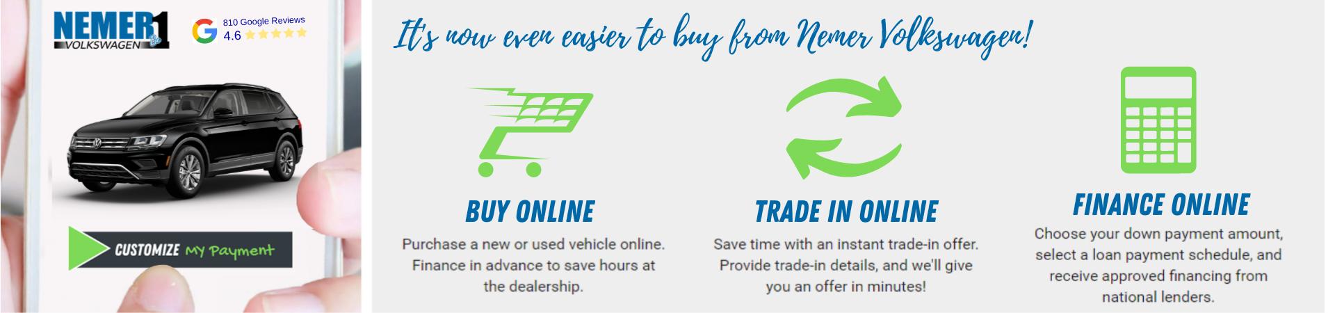 Darwin Buy Online at Nemer VW