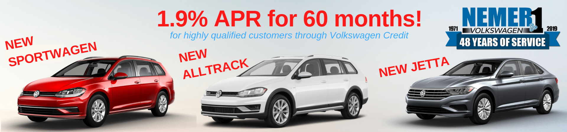 June VW APR Specials