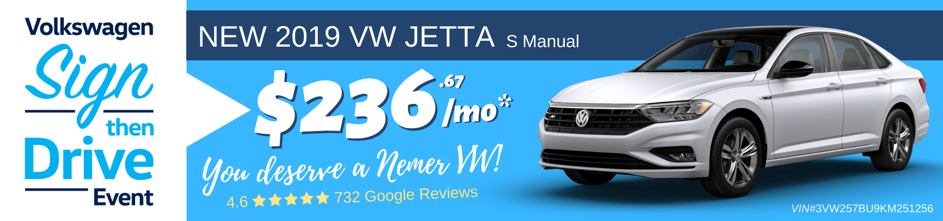 2019 Jetta Sign Then Drive Lease