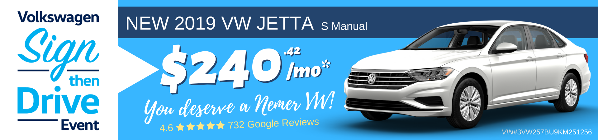 Jetta December 2019 Sign Then Drive Lease