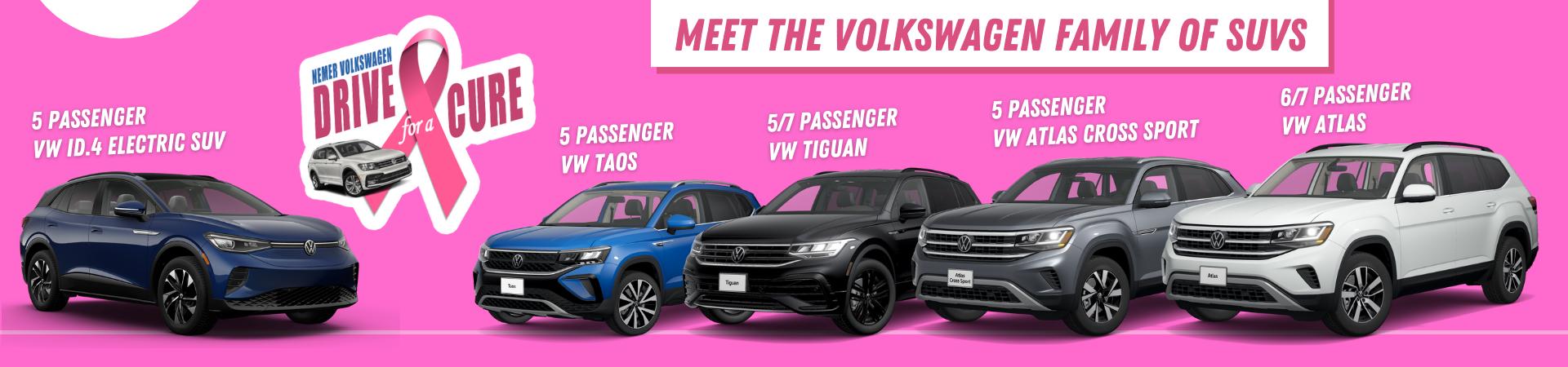 VW Family of SUVs