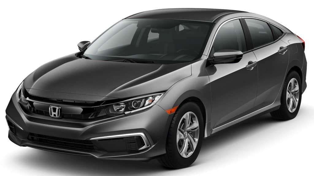 New 2019 Honda Civic LX CVT Sedan