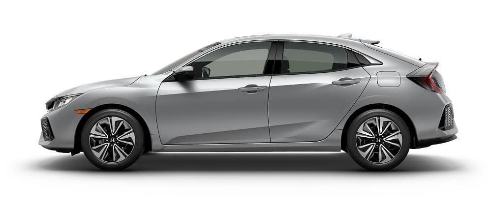 2019 Honda Civic Hatchback Lunar Silver