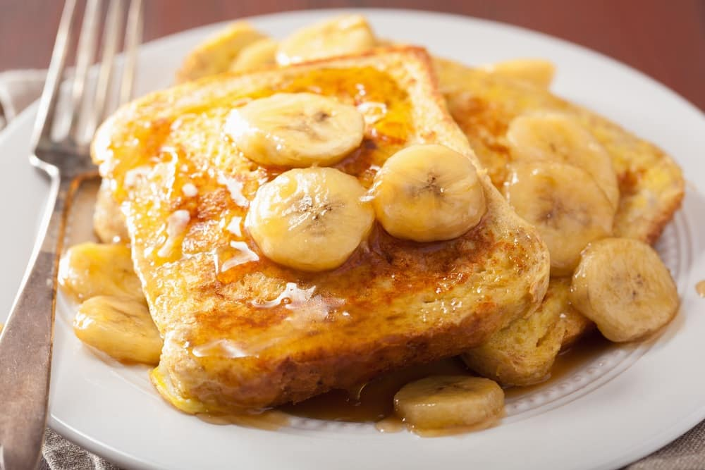 Banana French Toast near Abington, PA