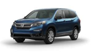 Honda Pilot Sapphire Blue Metallic