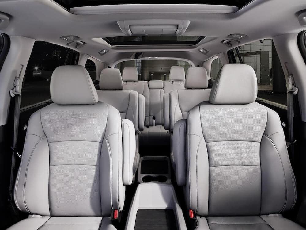 Honda Pilot Gray Interior