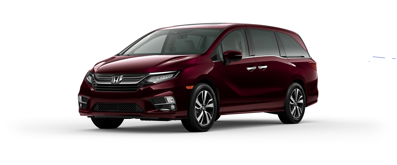 Honda Odyssey Deep Scarlett Red