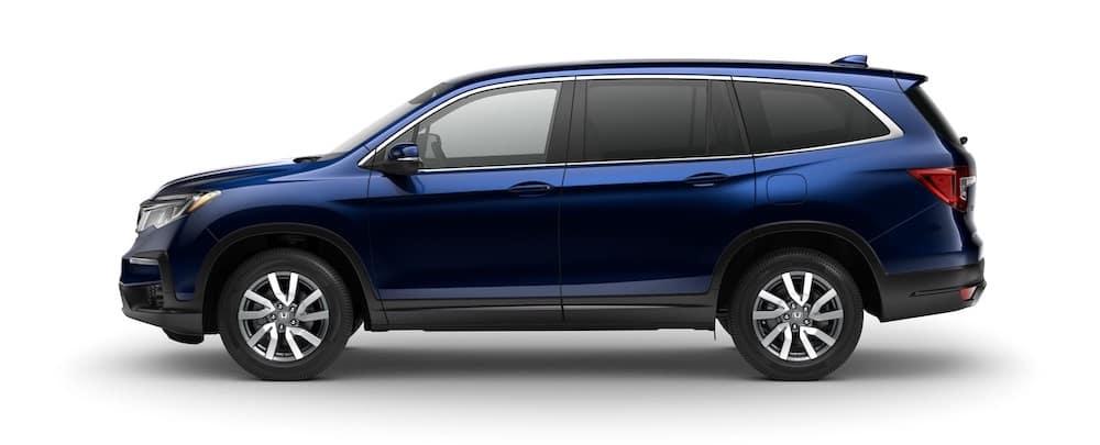 2020 Honda Pilot EX Obsidian-Blue-Pearl