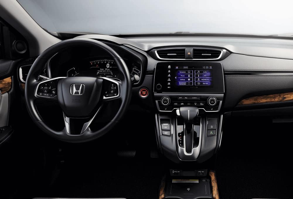 Honda CR-V Interior Technology