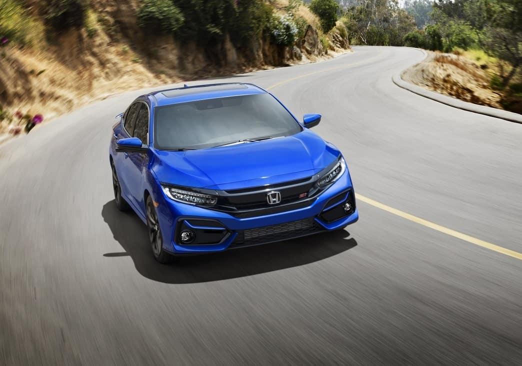 2020 Honda Civic Cruising