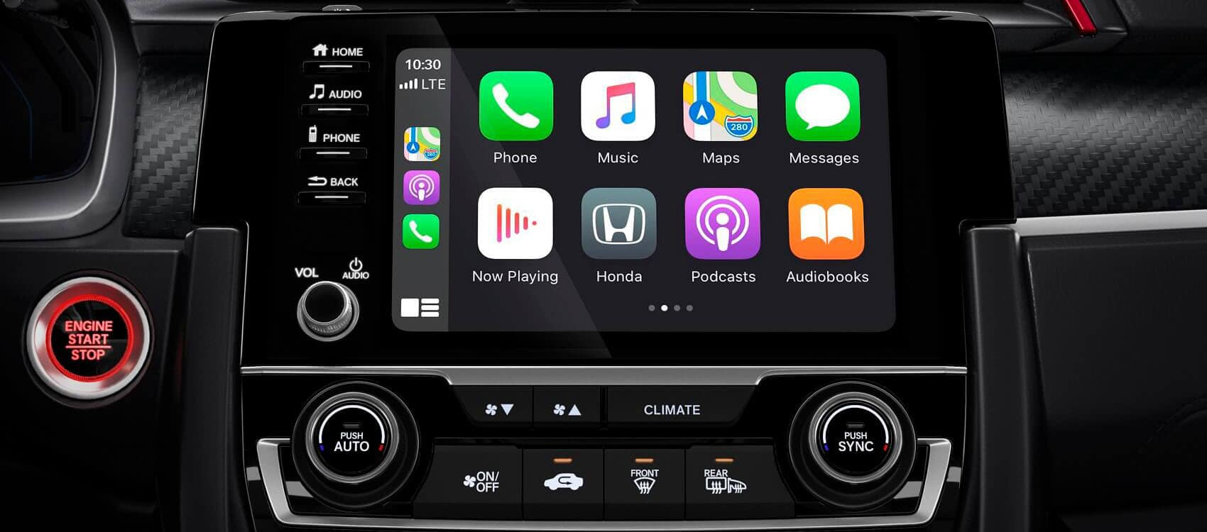 2020 Honda Civic Apple CarPlay®