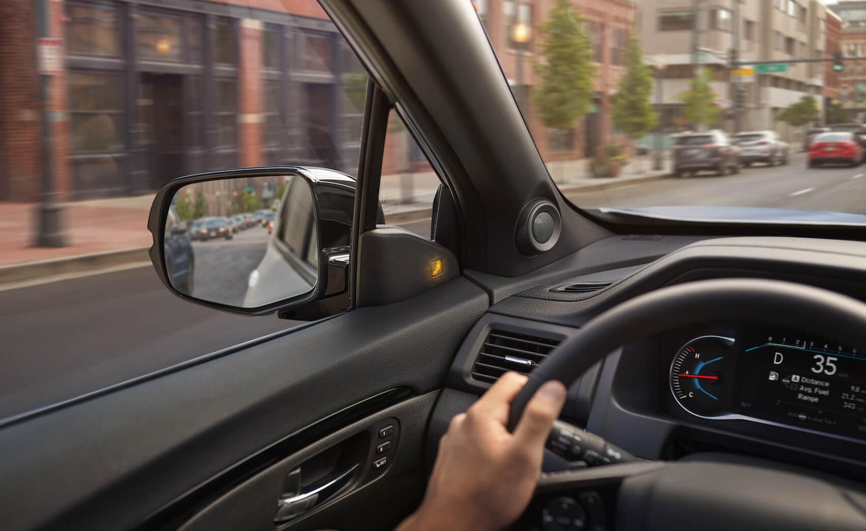Behind the wheel of a 2020 Honda Passport Abington, PA