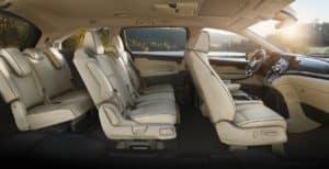 Honda Odyssey Interior Comfort
