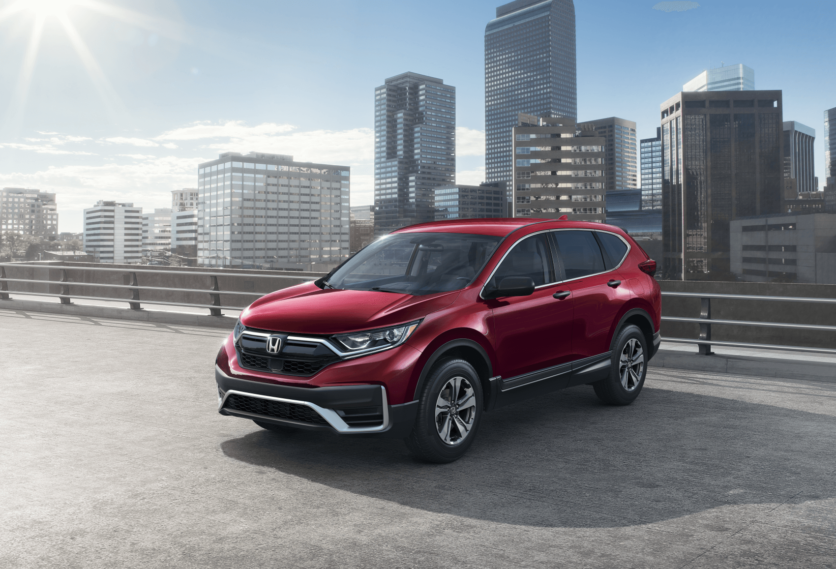 2021 Honda CR-V LX Red Outside City Sussman Honda