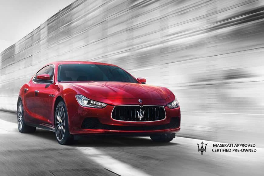 Maserati Certified Pre-Owned Benefits