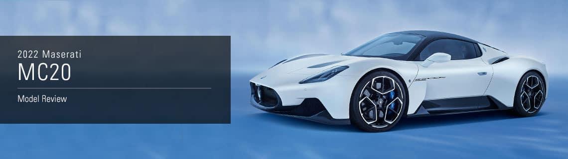 2022 Maserati MC20 Model Overview - Maserati of Akron