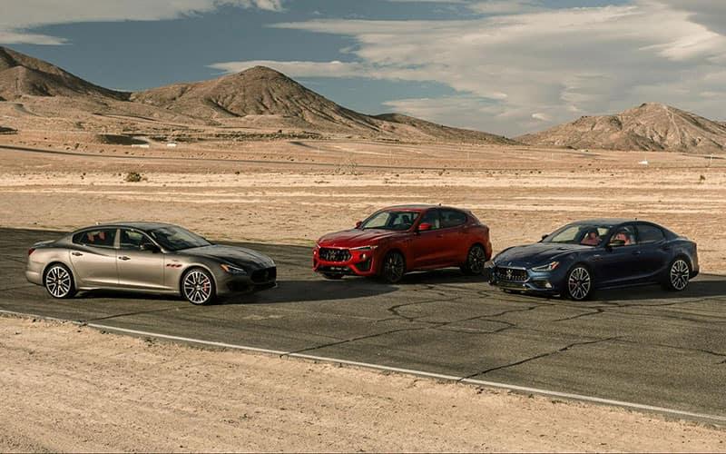 Maserati Trofeo Model Lineup