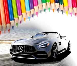 Mercedes-Benz Colouring Contest