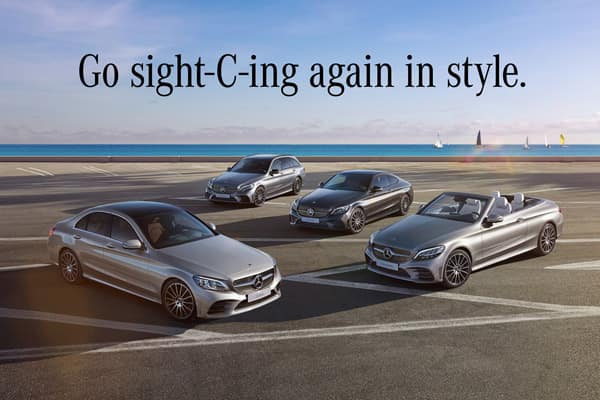 The C-Class Family Event is on now.