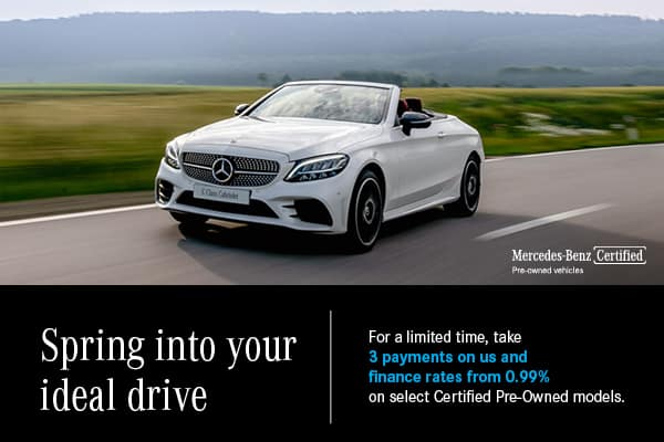 Spring into your ideal drive