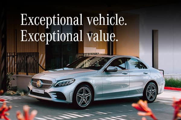 Exceptional vehicle. Exceptional value.