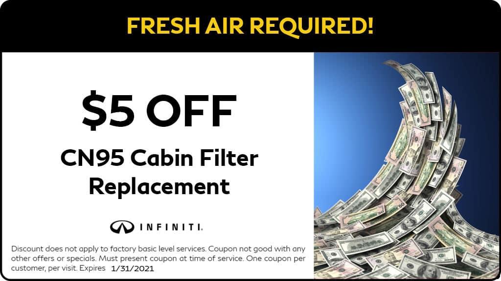 Cabin Filter Savings
