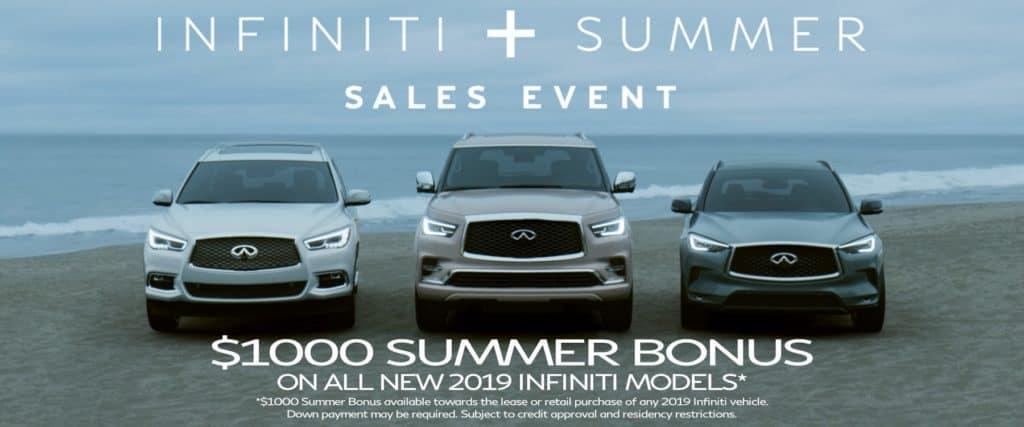 INFINITI Summer Sales Event