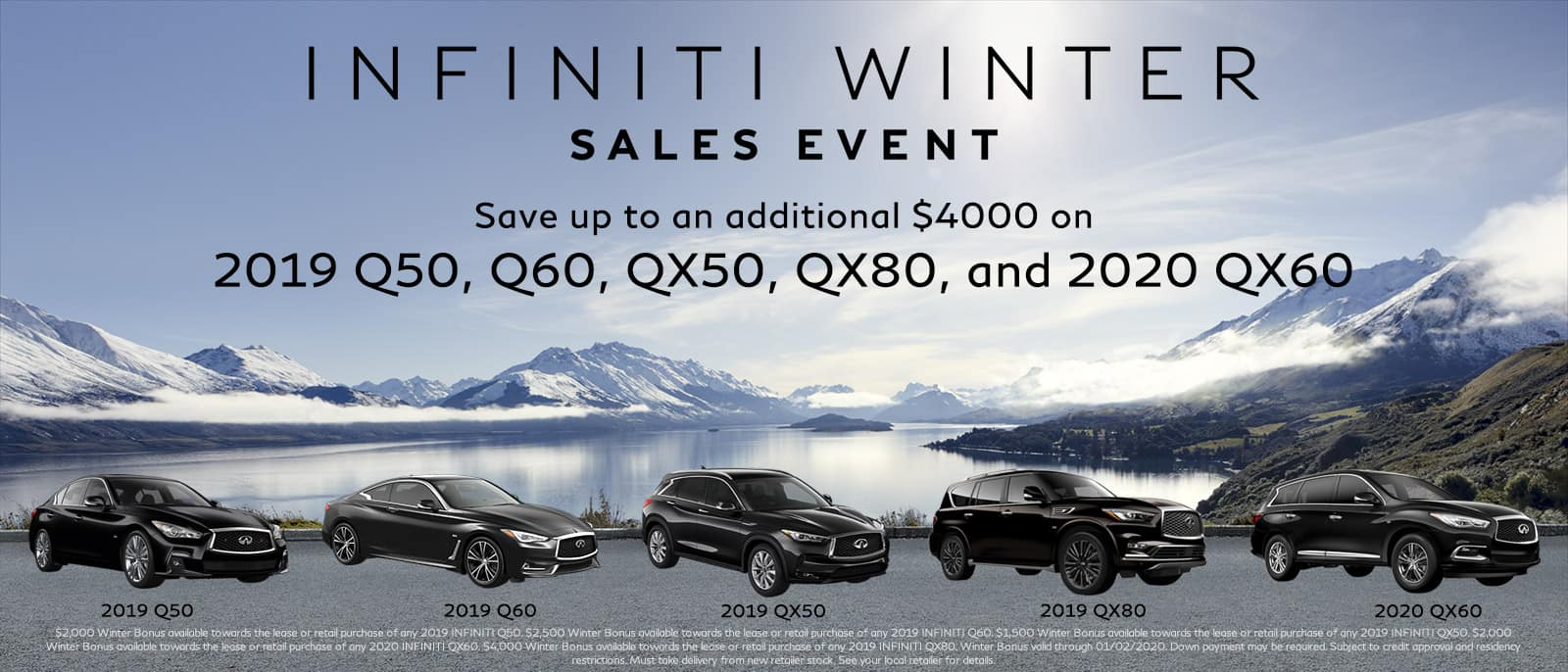 Winter Sales Event on Now