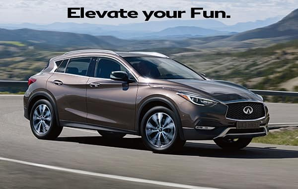 New 2018 INFINITI QX30 2.0t AWD Crossover with Navigation