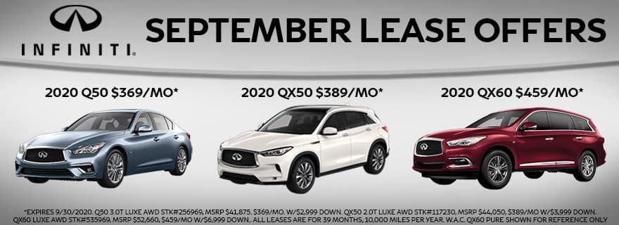 September Lease Offers