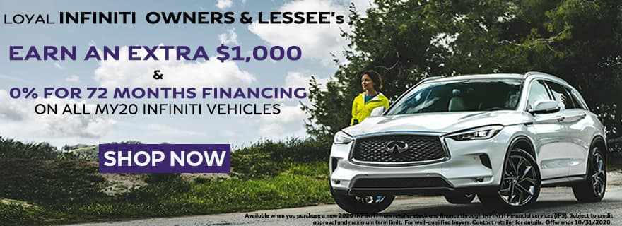 INFINITI Loyalty Offer