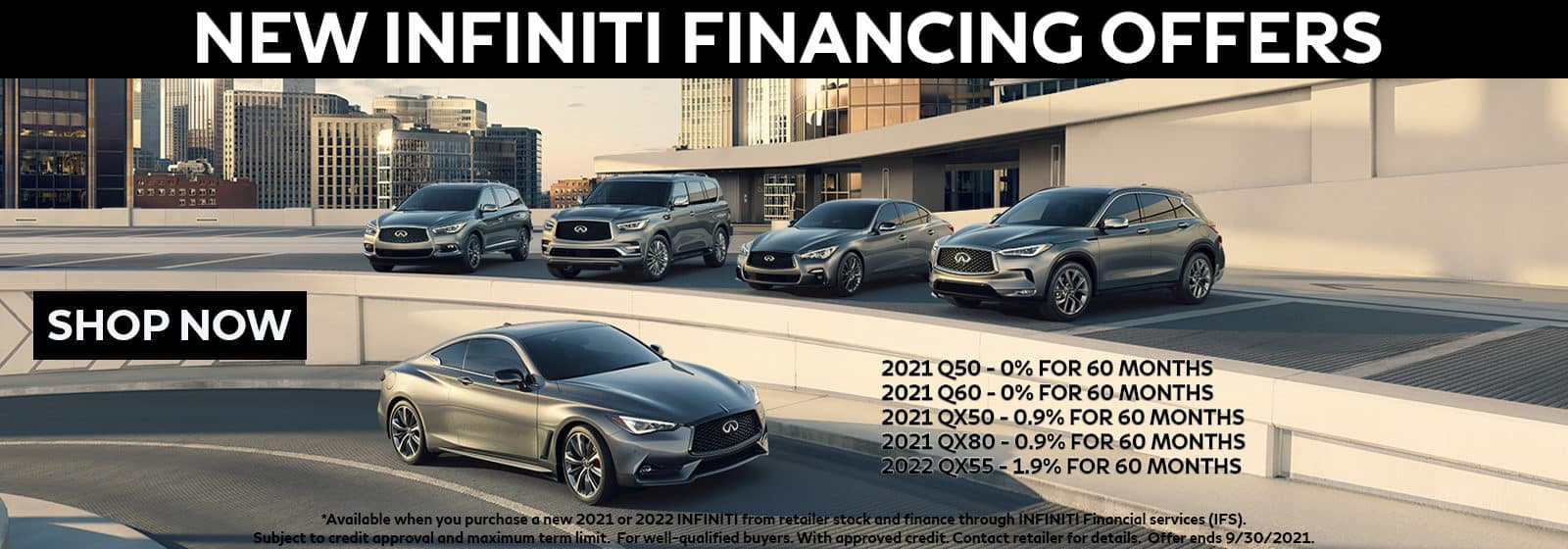 INFINITI Financing Offer