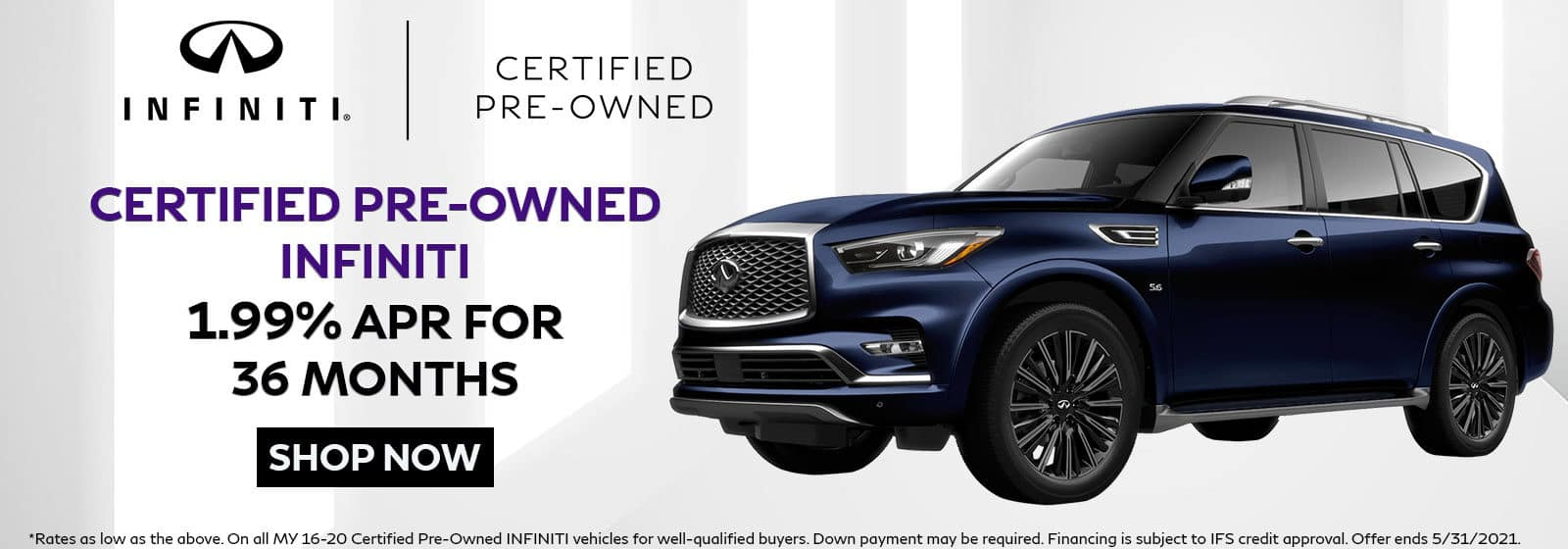 Certified Pre-Owned INFINITI Offer
