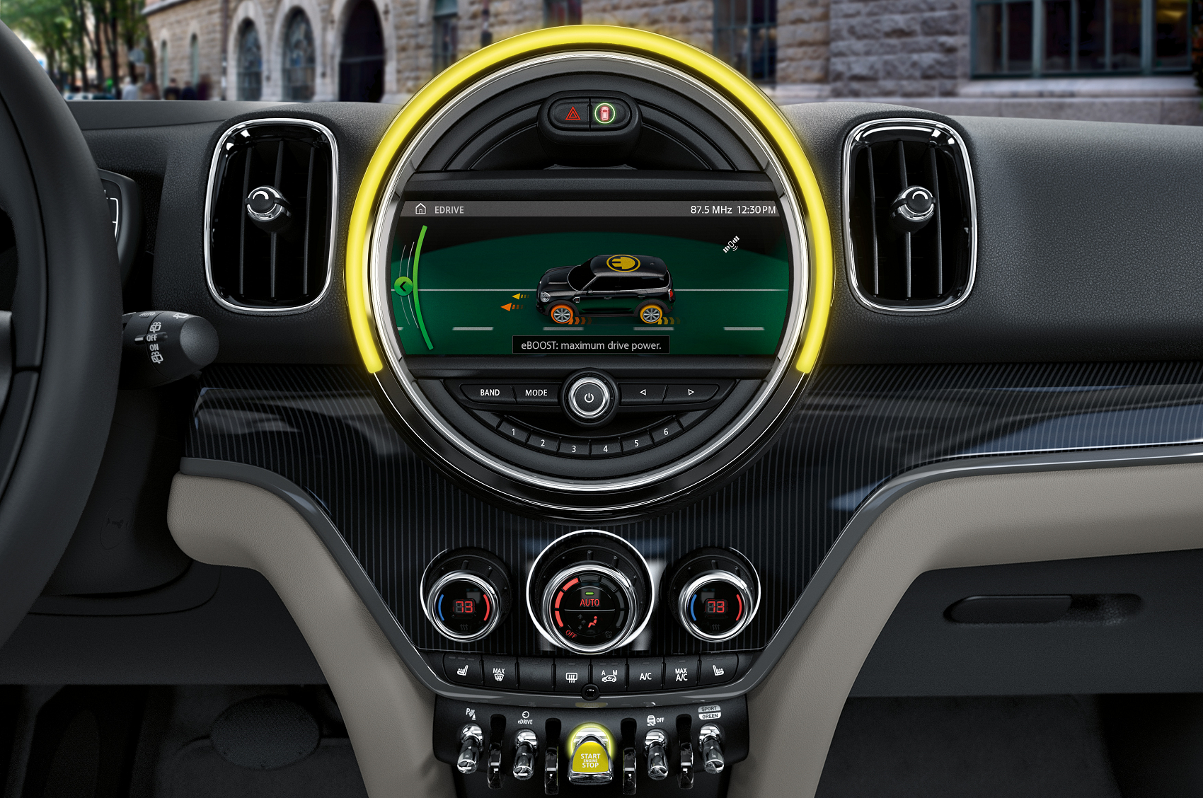 2019 Mini Countryman PHEV Interior Technology