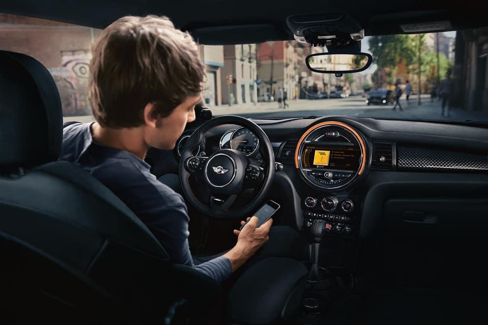 Mini Cooper S Interior Technology