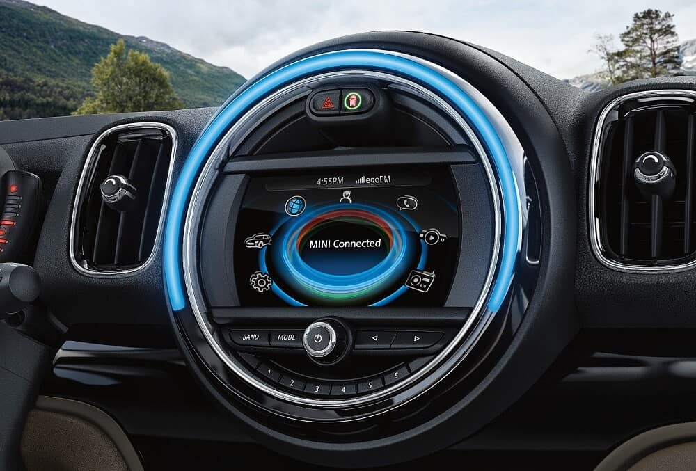 MINI Cooper S Countryman Interior Technology