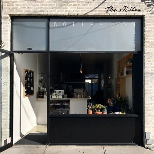 The Miles Coffee Bar Front