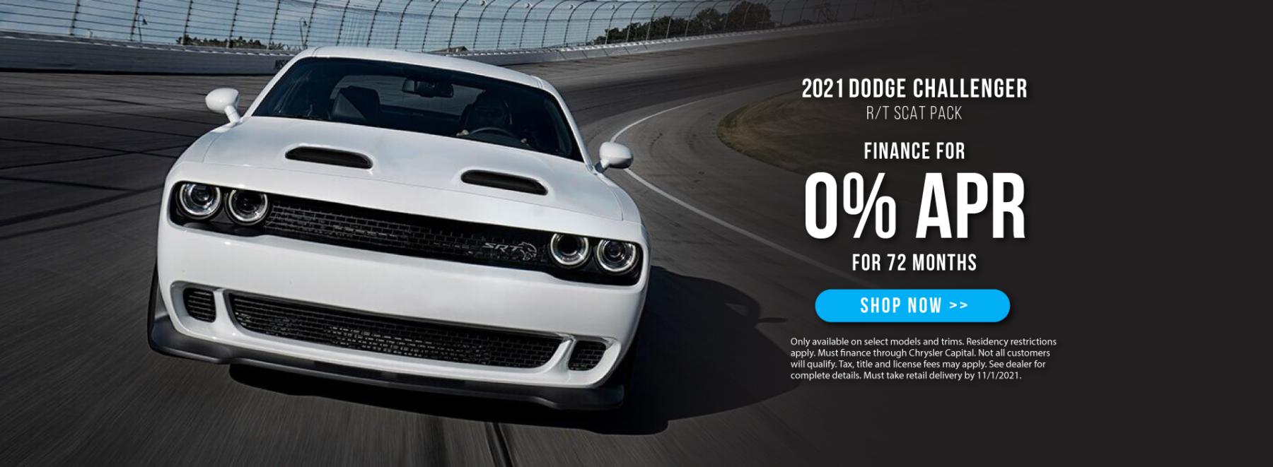 2021 Dodge Challenger Offer