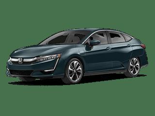 2018 Honda Clarity Plug-In Hybrid Sedan Angled