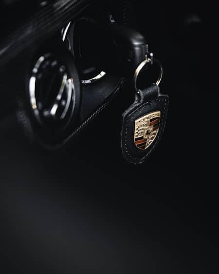 Porsche keyring